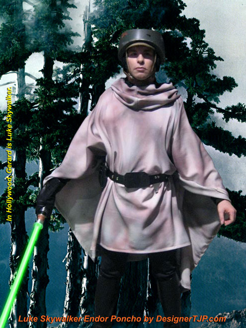 Endor Poncho by Designer TJP  sc 1 th 259 & Endor Poncho Movie Accurate Reproduction by Designer TJP