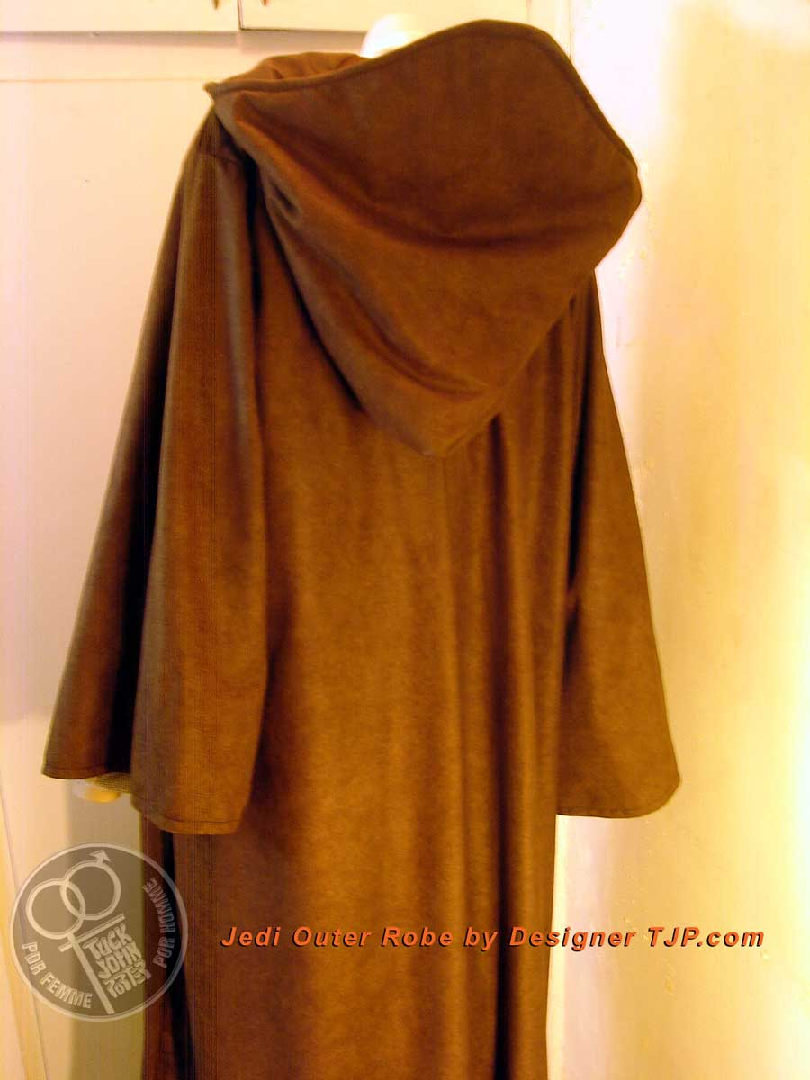 Star Wars Generic Jedi Outer Robe Perfect 4 Mace Windu Or