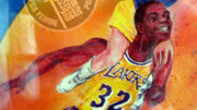 Magic Johnson Illustration by Designer TJP