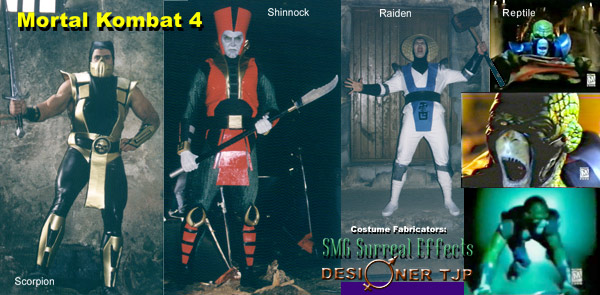 MK4 Suits Fabricated by SMG and Designer TJP